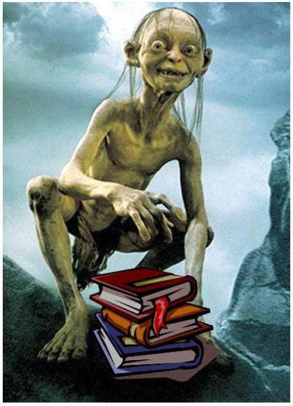 Gollum_m_böcker