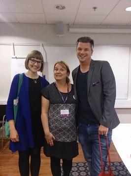 Sara Bergmark Elfgren, Linda och Mats Strandberg